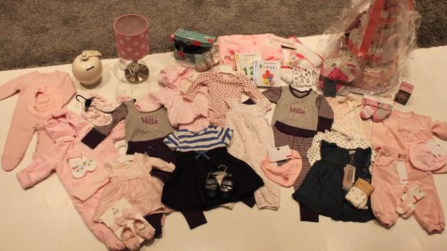 Masse flotte gaver til lillesøster. Foto: privat