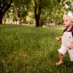 sweet-blonde-child-curiosly-exploring-the-world-picture-id517999360
