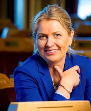 Stortingsrepresentant for Høyre, Kristin Vinje.
