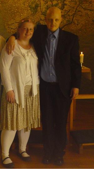 3. juli 2009: Hege og Espen gifter seg på Radiumhospitalet.