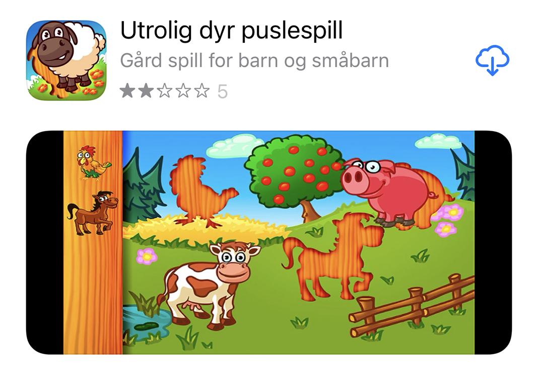 Apper til barn