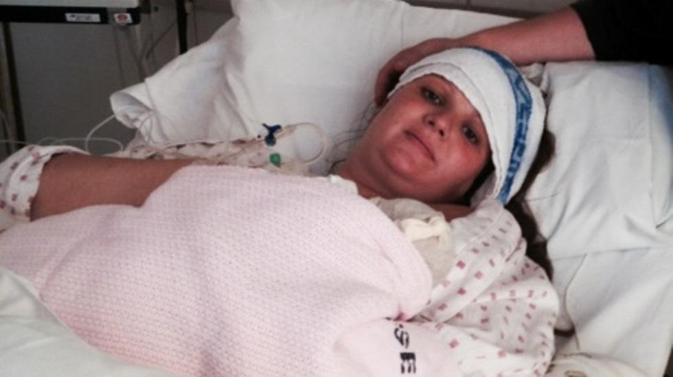 Da Charlotte Caroline Næss fødte for tredje gang, fikk hun en drømmefødsel. Foto: privat