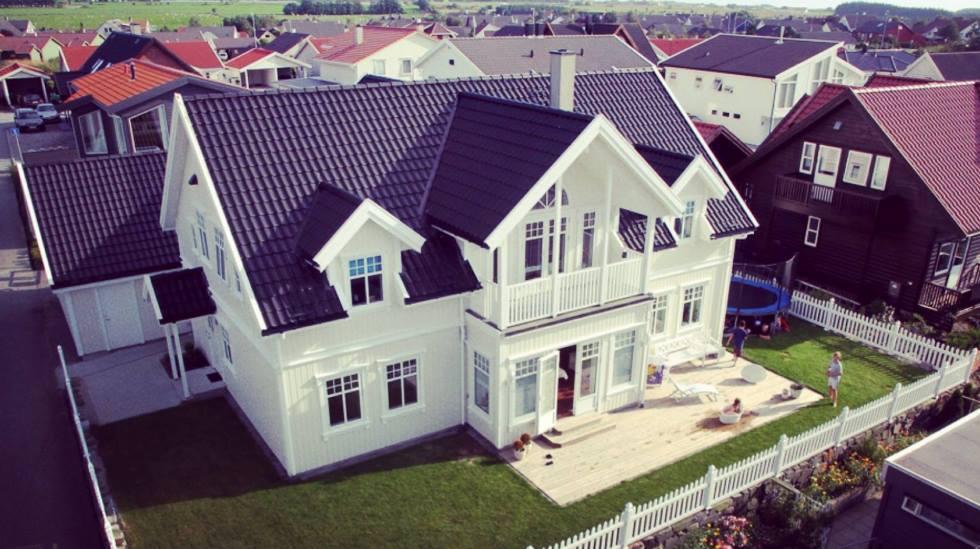 Huset en barnefamilie skal reise på ferie til i sommer. Foto: privat