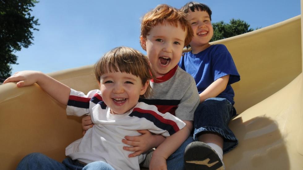 Tre gutter i løpet av tre år kan bety mye fart i feriene. Illustrasjonsfoto: Shutterstock