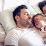 sleeping-peacefully-in-one-bed-picture-id1059538636