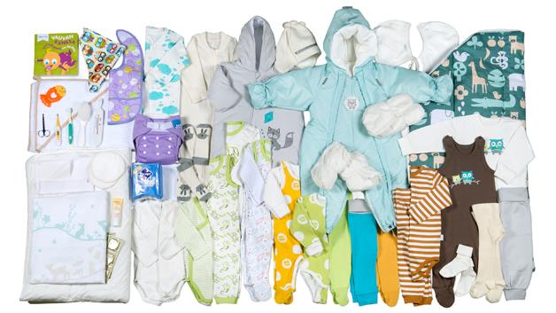 I år inneholder mammapakken 54 produkter. I fjor var det 49.