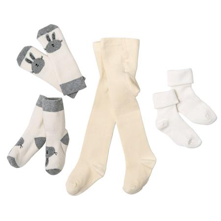 Strømpebukse 62-68, sokker og vanter 19-21.