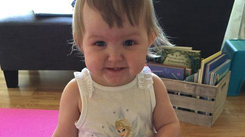 Othilie er som alle andre – takket være nyfødtscreeningen. Foto: privat