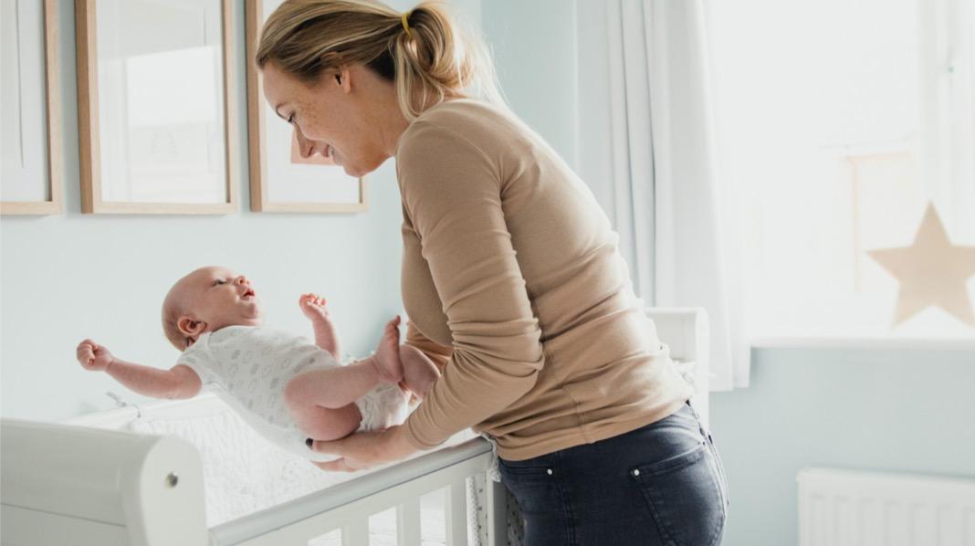 Hvordan legge baby