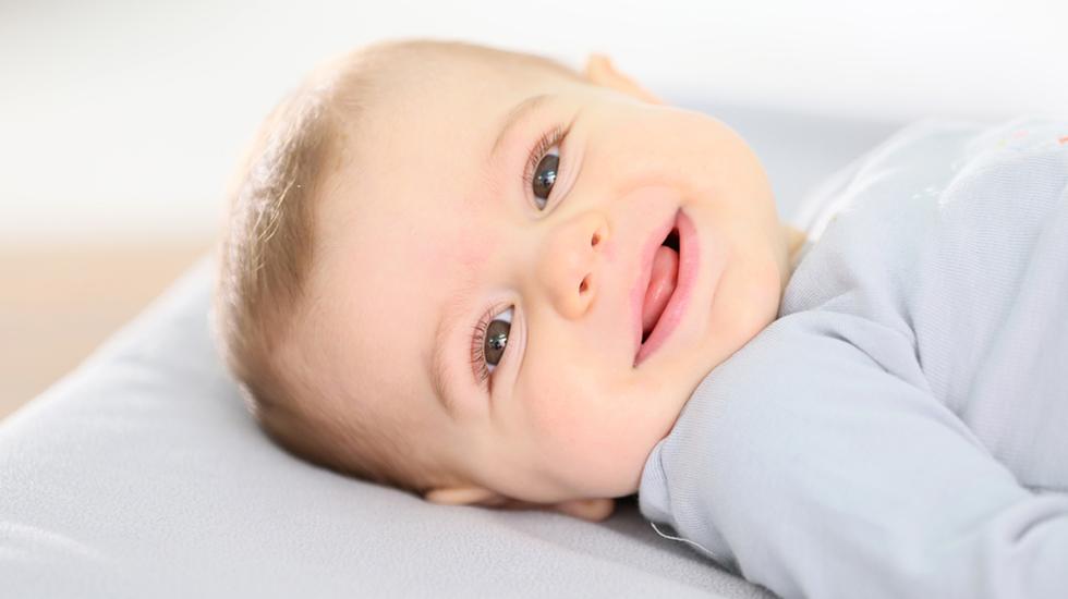 Ingenting er søtere enn babysmil. Foto: Shutterstock