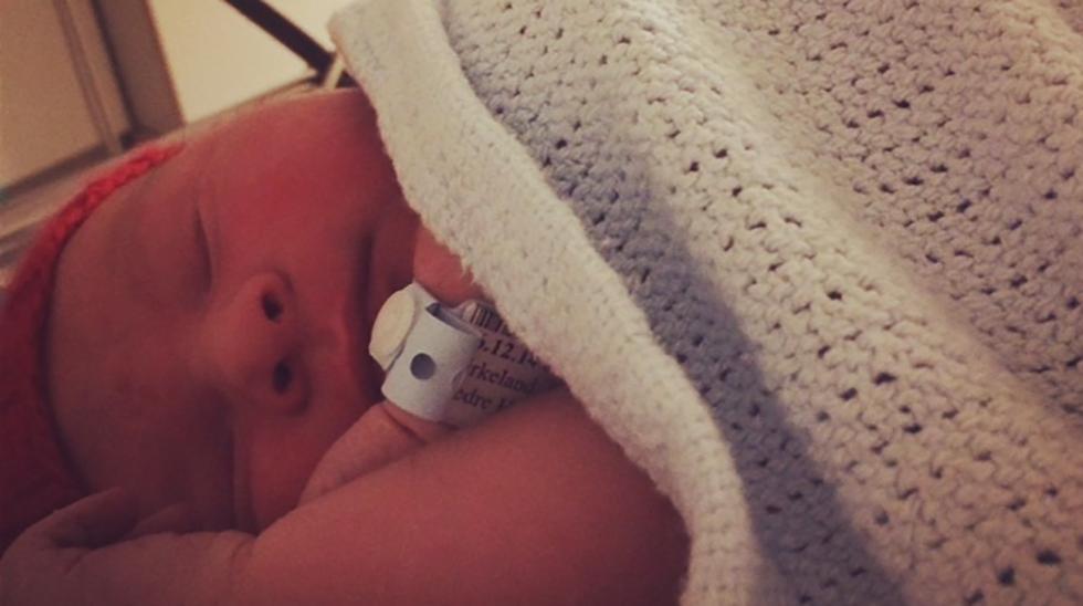 En stor liten gutt. Foto: privat