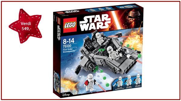 Lego Star Wars-pakke til en verdi av kr 549,-