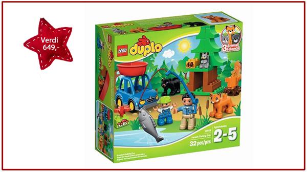 Duplo skogpark fra Lego. Verdi kr 649,-