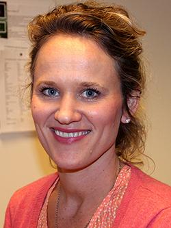 Helsesøster Ingunn Rossavik Johannessen. Foto: Karianne Munch-Ellingsen