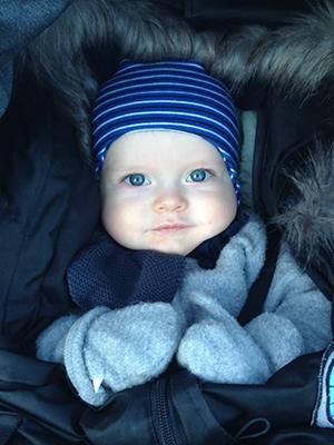 William er en etterlengtet liten gutt. Foto: privat