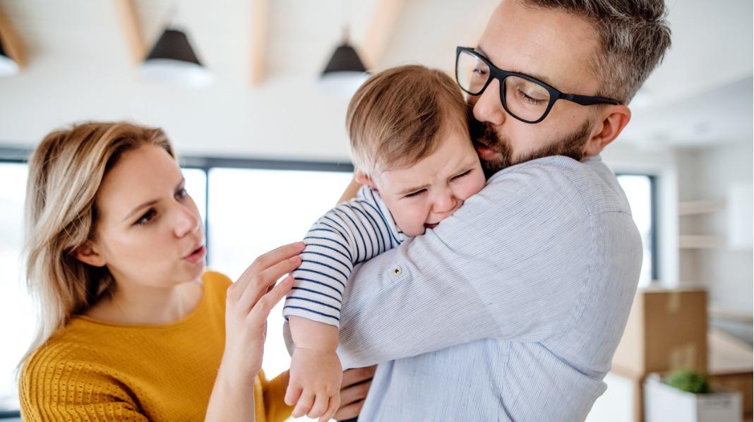 En snill og en streng forelder