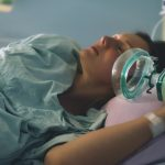 childbirth-woman-giving-birth-in-maternity-hospital-pregnant-woman-picture-id1307751900