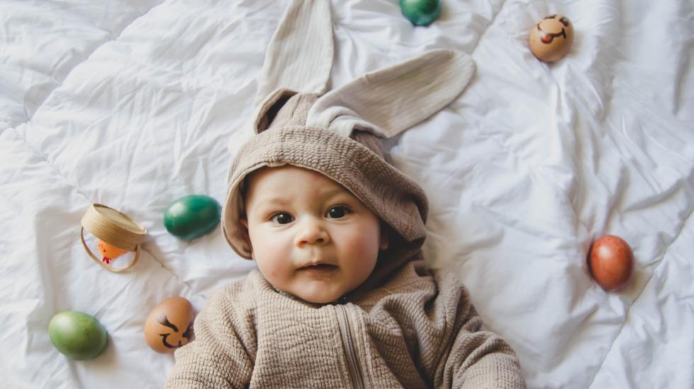 Hvem kan motstå en så søt liten påskehare?