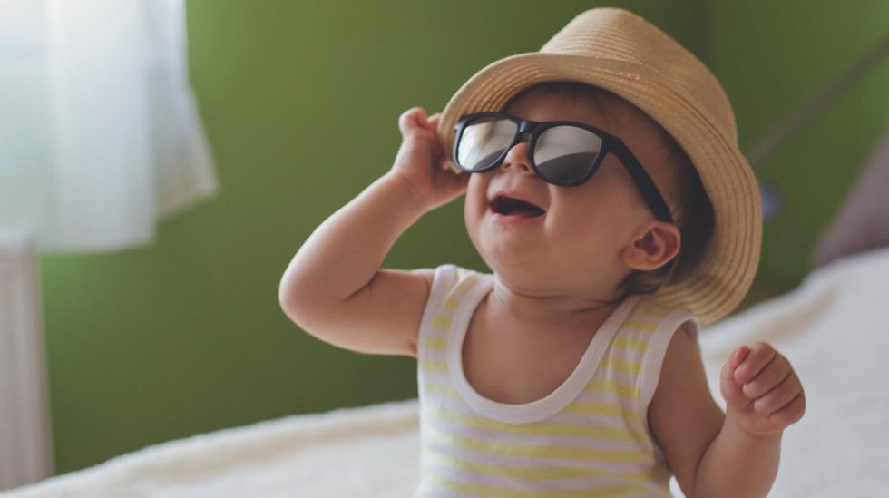 Beskytt barnets øyne mot påskesola
