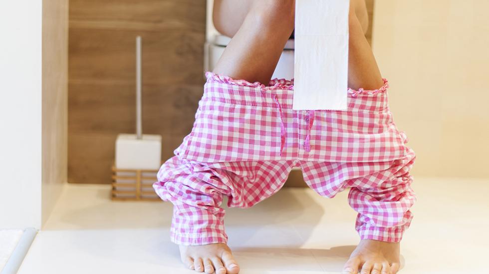 Hjelpes, hvordan kommer det til å bli når jeg skal gå på do etter fødselen? Illustrasjonsfoto: iStock