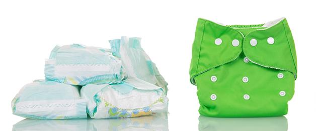 Det blir mindre avfall med tøybleier. Illustrasjonsfoto: Shutterstock