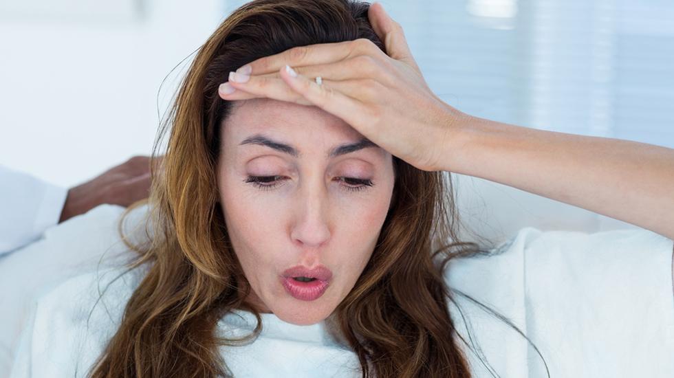 Det kan bli få pauser mellom riene under en styrtfødsel. Illustrasjonsfoto: Shutterstock