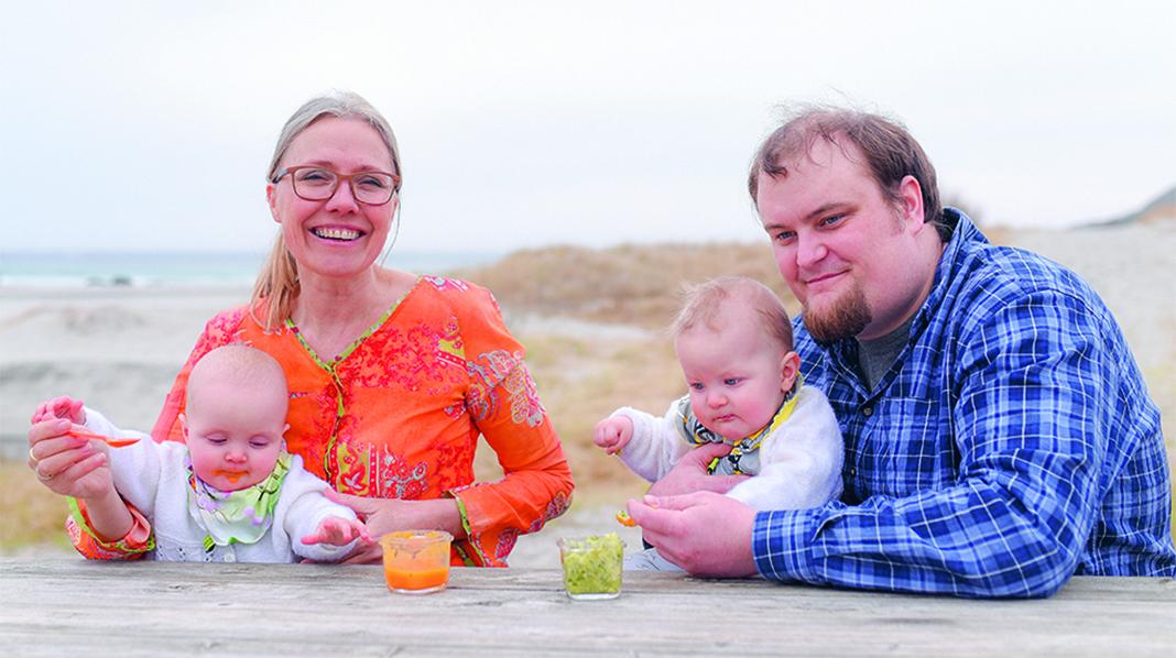 Margit Vea oppfordrer flere foreldre til å lage babymaten selv. Foto: Edgar G. Bachel