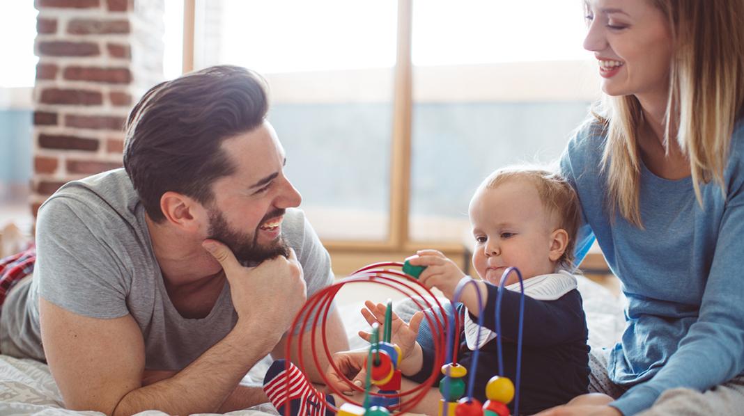 Lek er læring for babyen