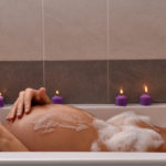 Pregnancy bath.