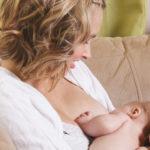 Nursing Baby on Sofa