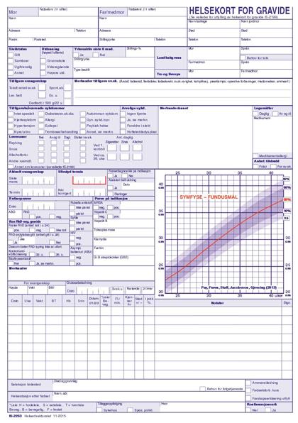 """Her er """"Helsekort for gravide"""". Klikk på bildet for å se i større størrelse. Kilde: Helsedirektoratet"""
