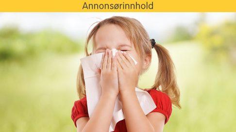 pollenallergi 2 åring