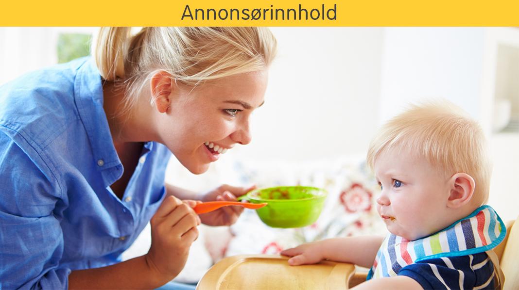 KRYDRET: Små barn liker spennende smaker, og kan stort sett spise det samme som resten av familien fra de er 6-8 måneder. FOTO: iStock