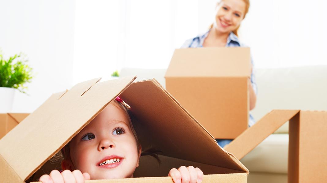 Kan en av foreldrene ta med seg barnet og flytte til en annen kant av landet?