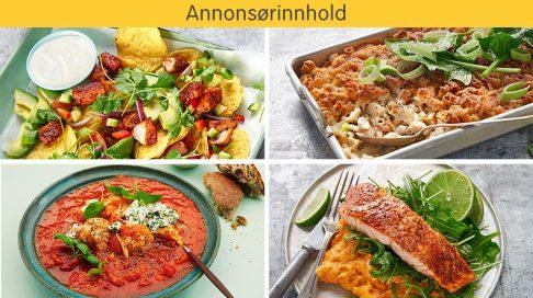 sunn billig mat oppskrifter