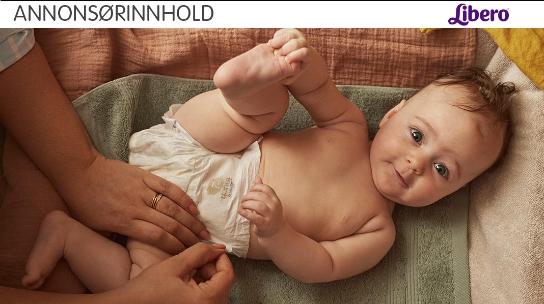 Grønnsvart, gul eller grønn avføring kan være helt normalt hos babyer