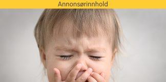 barn forkjøelse tett nese