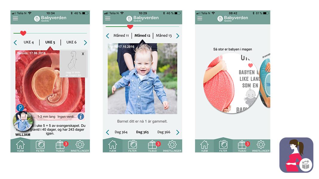 App Gravid og barn