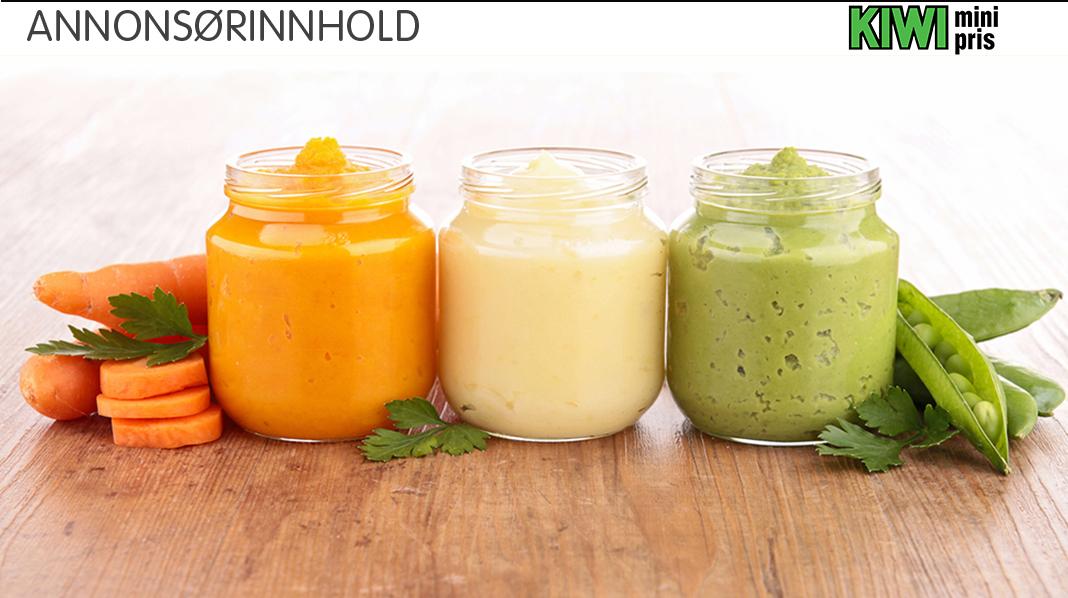 START TIDLIG: Vitamin C får man bare fra frukt, bær og grønnsaker. Morsmelken inneholder litt, men når barnet går over på fast føde, er vitamin C fra blant annet grønnsaker svært avgjørende.