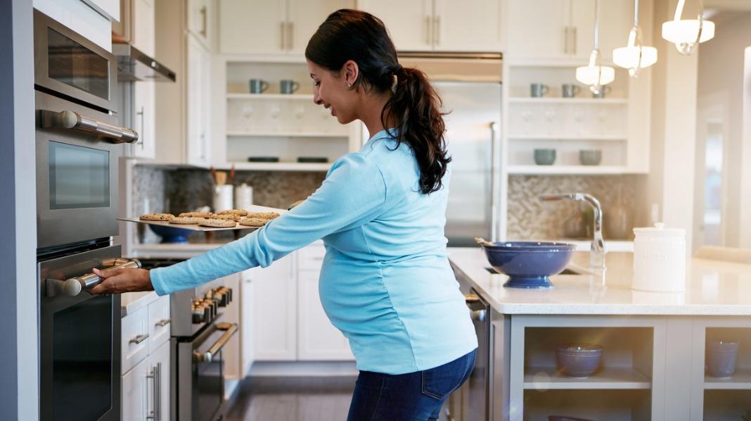 Hadde du fryseren full av mat da du gikk gravid?