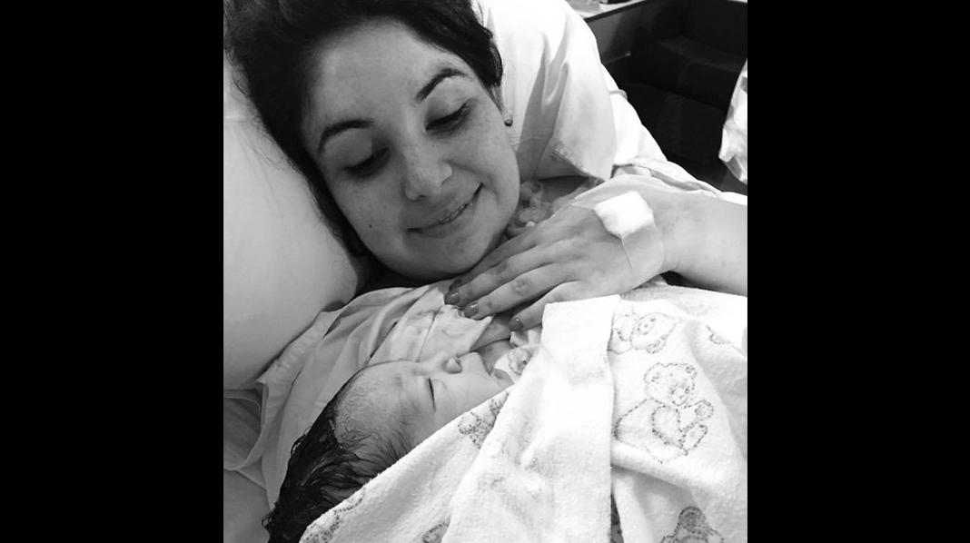 Mum on the run, blogger, ber gravide om å ikke frykte fødselen.