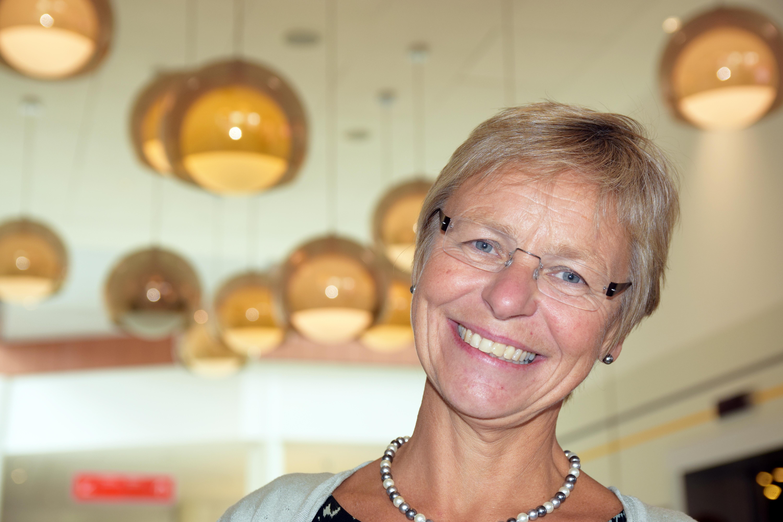 Leder i Jordmorforeningen Kirsten Jørgensen. Foto