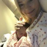 Lykkelig nybakt mamma Helene Ragnhild