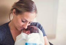 Seks timer etter fødselen