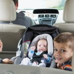 two-boys-and-baby-in-back-seat-of-car-father-driving-picture-id679978728-1