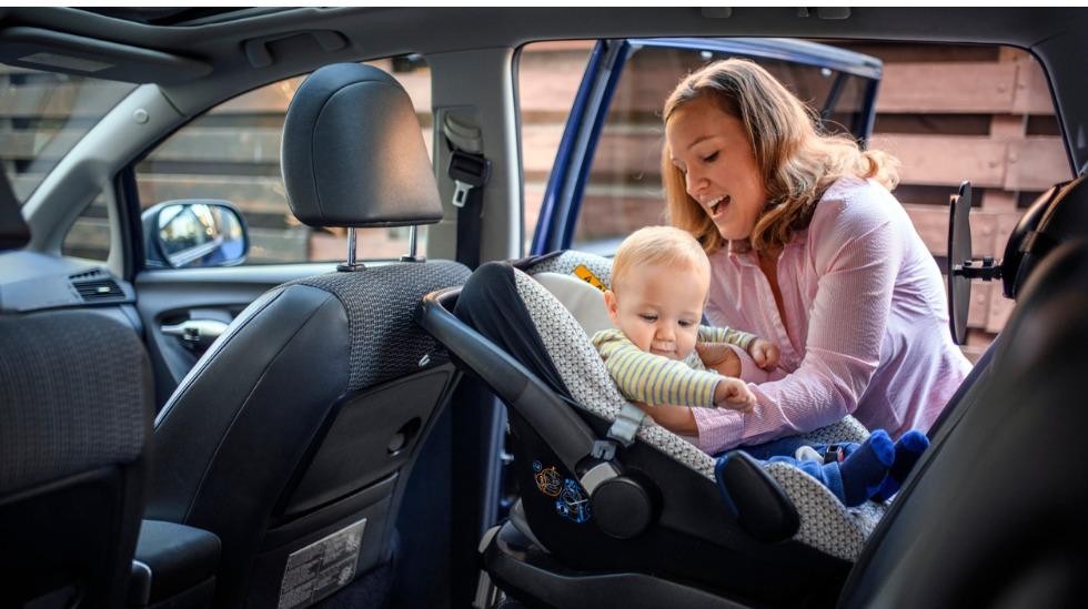 ferie barn i bil