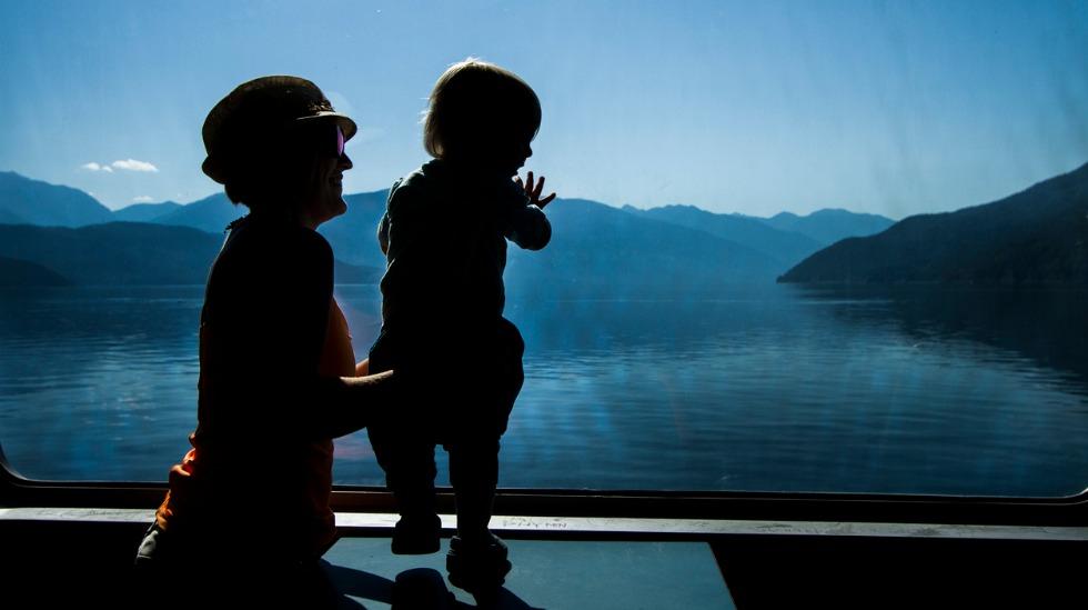reise barn båt