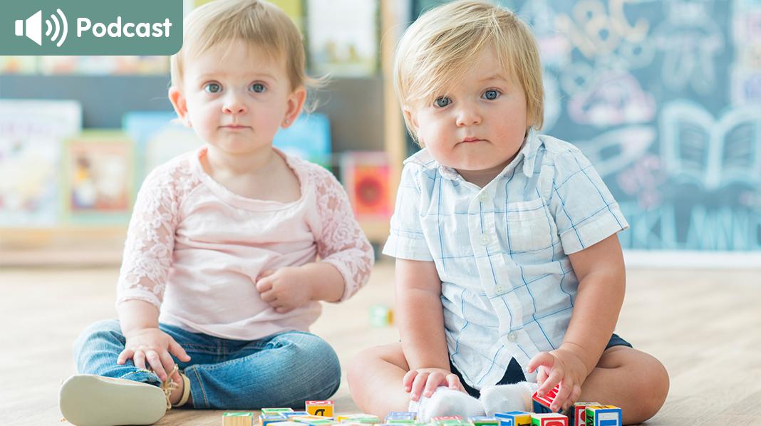 I denne episoden får du tips som skal gjøre overgangen til barnehage best for både barn og foreldre. Illustrasjonsfoto: iStock