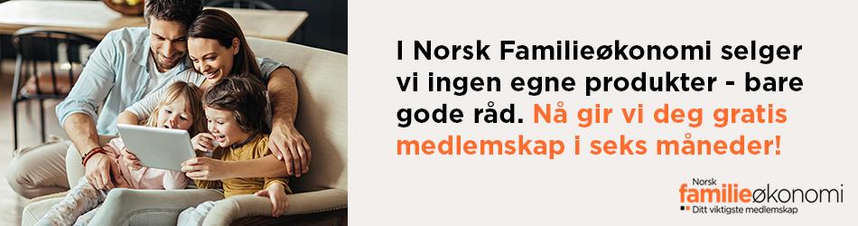 Norsk familieøkonomi