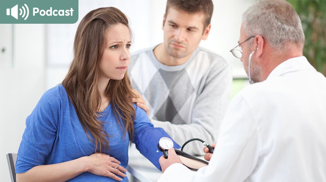 Forhøyet blodtrykk er ett av symptomene på svangerskapsforgiftning. Illustrasjonsfoto: iStock